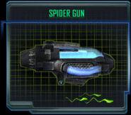 Spider gun-profile