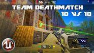 Unreal Tournament 4 - Team Deathmatch in Batrankus Bastion 10v10