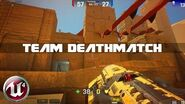 Unreal Tournament 4 - Team Deathmatch in DM-SAND 5v5