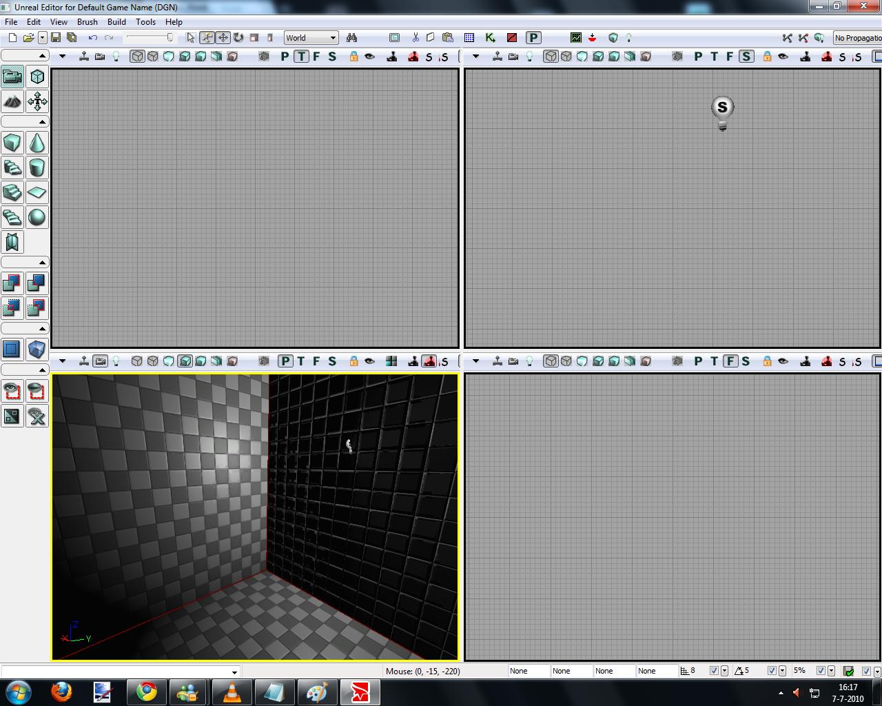 7 inside 3X1024 hollow light