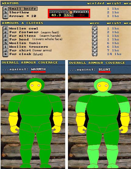 Cheap-warm-light-armor