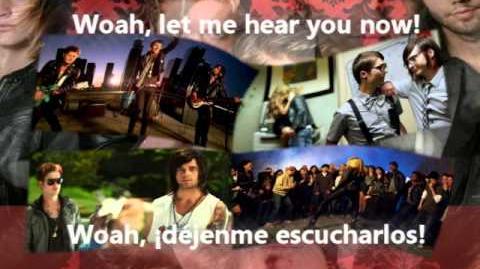 Hot Chelle Rae - Tonight Tonight - Traducción Español