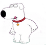Brian Griffin Stroking his tail uncensored