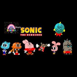El y los demas como personajes de Sonic