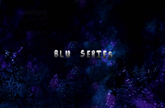 BLU series title and pilot