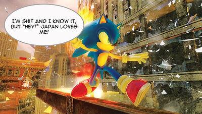 Sonic the Hedgehog is crap!