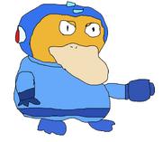 Psyduck Mega Man