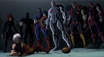 Ultron V.2 And Robotic Avengers