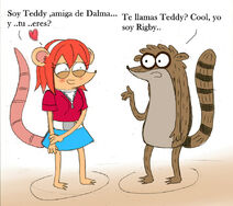 Teddy and rigby by chibirigby-d4w74vn
