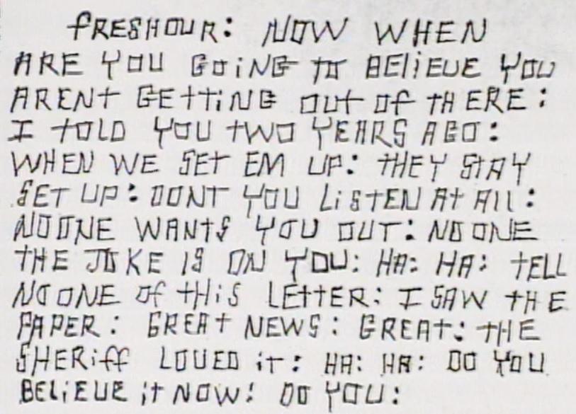 Image result for circleville letter writer