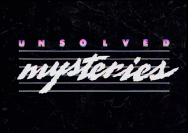 Unsolved Mysteries Title Seasons 1 & 2