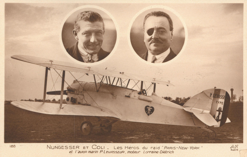 Charles Nungesser and Francois Coli | Unsolved Mysteries Wiki