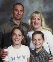Robert fisher with family