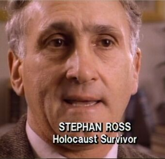 IMG STEPHAN ROSS, a Death Camps Survivor