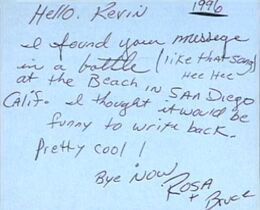 Bruce and rosa letter