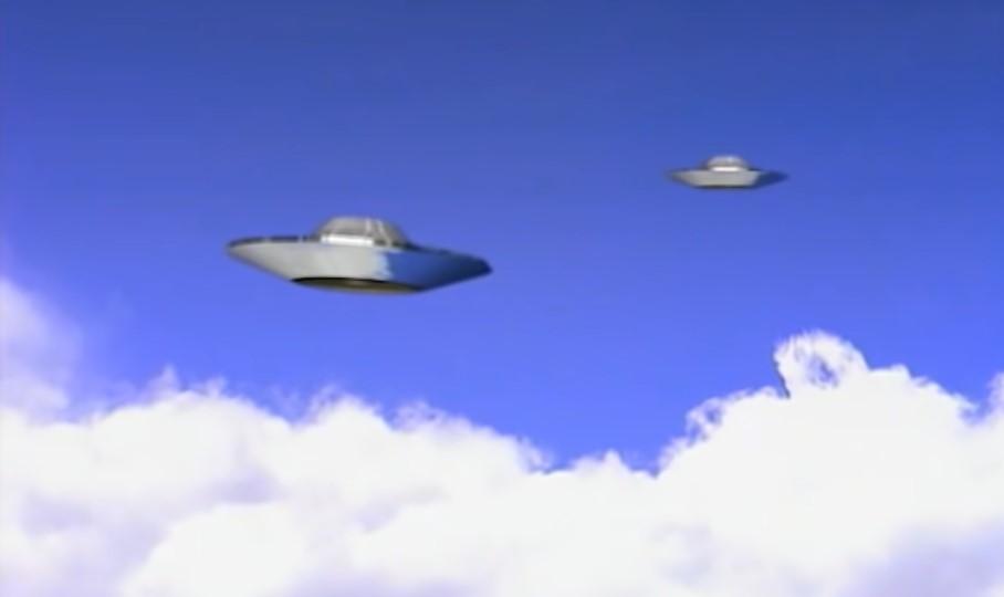 Falcon lake ufo1 sketch