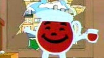 Kool-Aid Man on Family Guy
