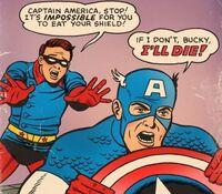 Captain America Stupid