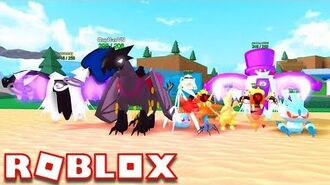 POKEMON FIGHTERS EX IS BACK AS MONSTERS OF ETHERIA!! - Roblox