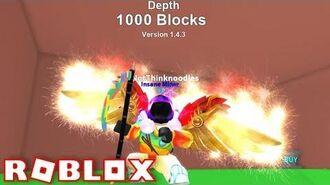 NEW MYTHICAL PETS + HATS - BELOW 1000+ BLOCKS!! - ROBLOX Mining Simulator