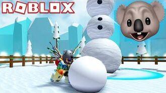 MY NEW FAVORITE SIMULATOR GAME! - ROBLOX Snowman Simulator