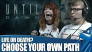 Until Dawn Gameplay Choose Your Own Path