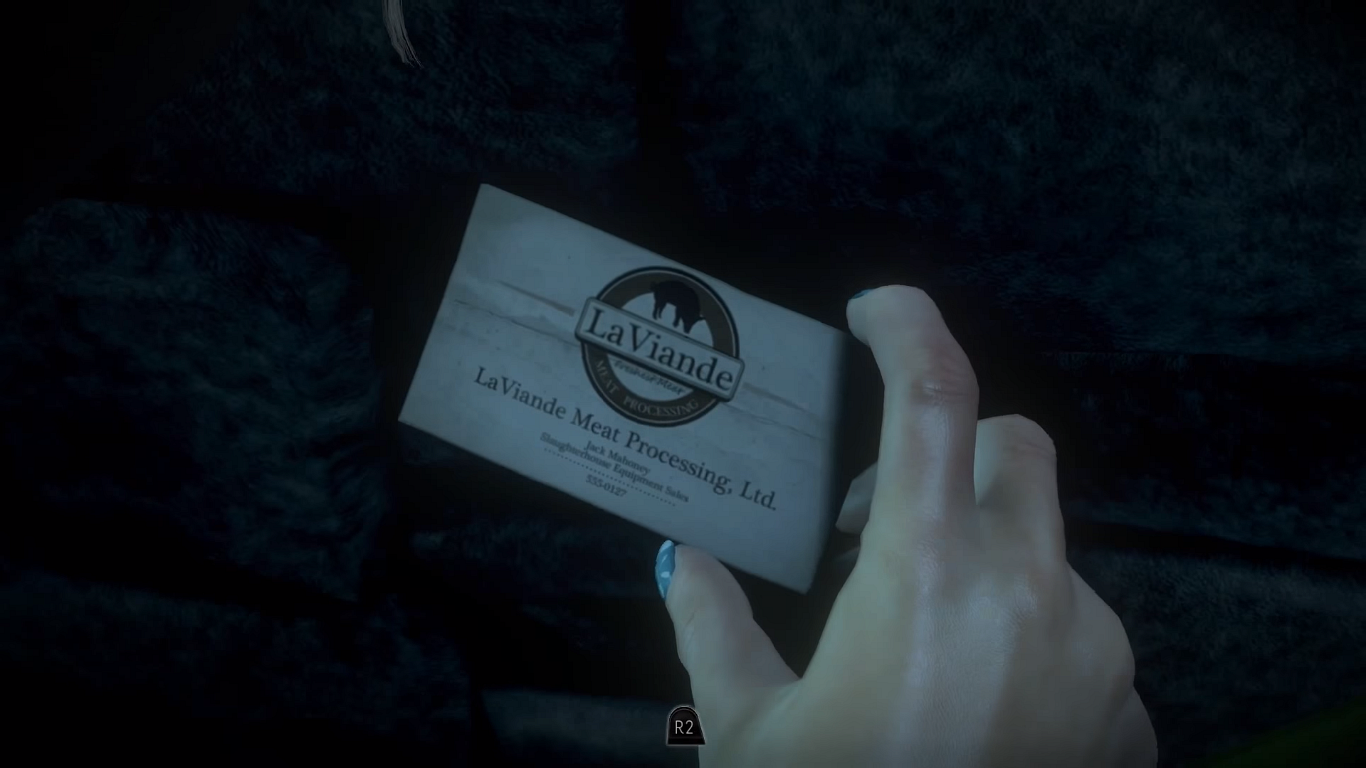 Business card until dawn wiki fandom powered by wikia business card magicingreecefo Image collections
