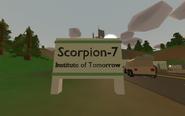 Washington Scorpion-7 - sign