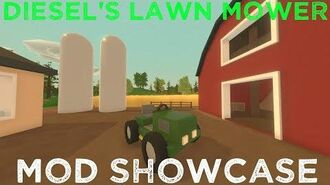 Diesel's Lawn Mower - Unturned Mod Showcase