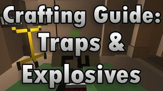 Unturned Crafting Guide Traps & Explosives - How to Make a Landmine, C4, and More