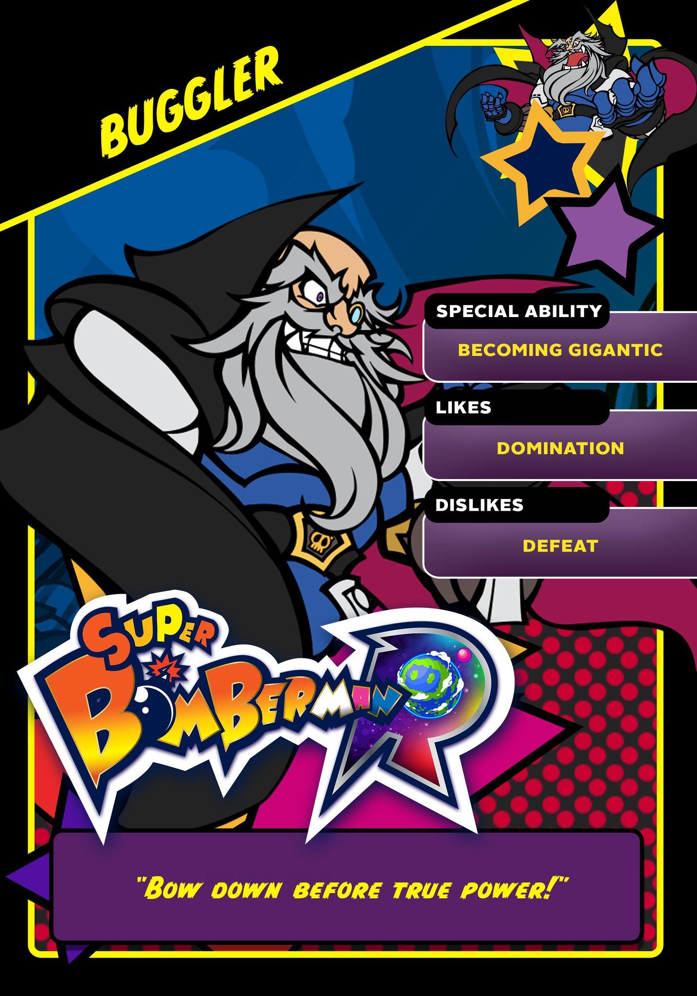 Super Bomberman R Black Bomber: Image - Buggler Card.png