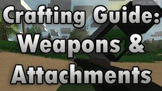 Unturned Crafting Guide Weapons & Attachments - How to Make a Longbow, Gernades, and More