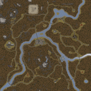 Map Satellite Germany 1