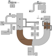 France RULA Facility map