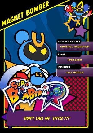 Magnet Bomber card