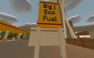 Seattle - Big J Eco Fuel sign