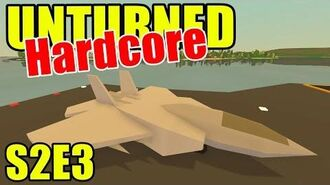Unturned HARD Mode - Fighter Jet?! - S2E03 (New Brunswick Map)