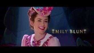 Mary Poppins revine Mary Poppins Returns (2018) - Trailer dublat în română