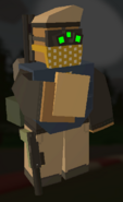 Player holding Bread
