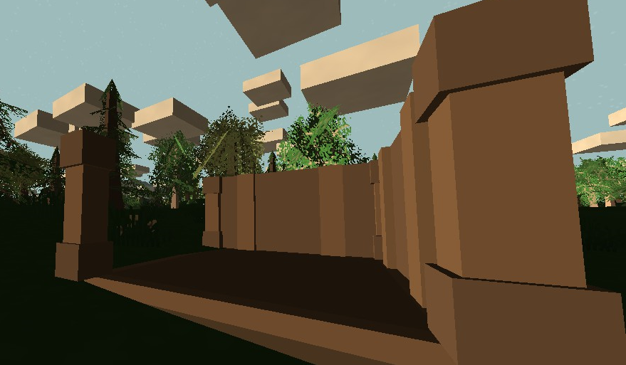 Unturned house unfinished