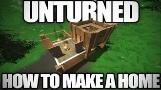 Unturned How to Build a Simple Base