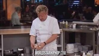 Gordon Ramsay complaining that the bass is raw