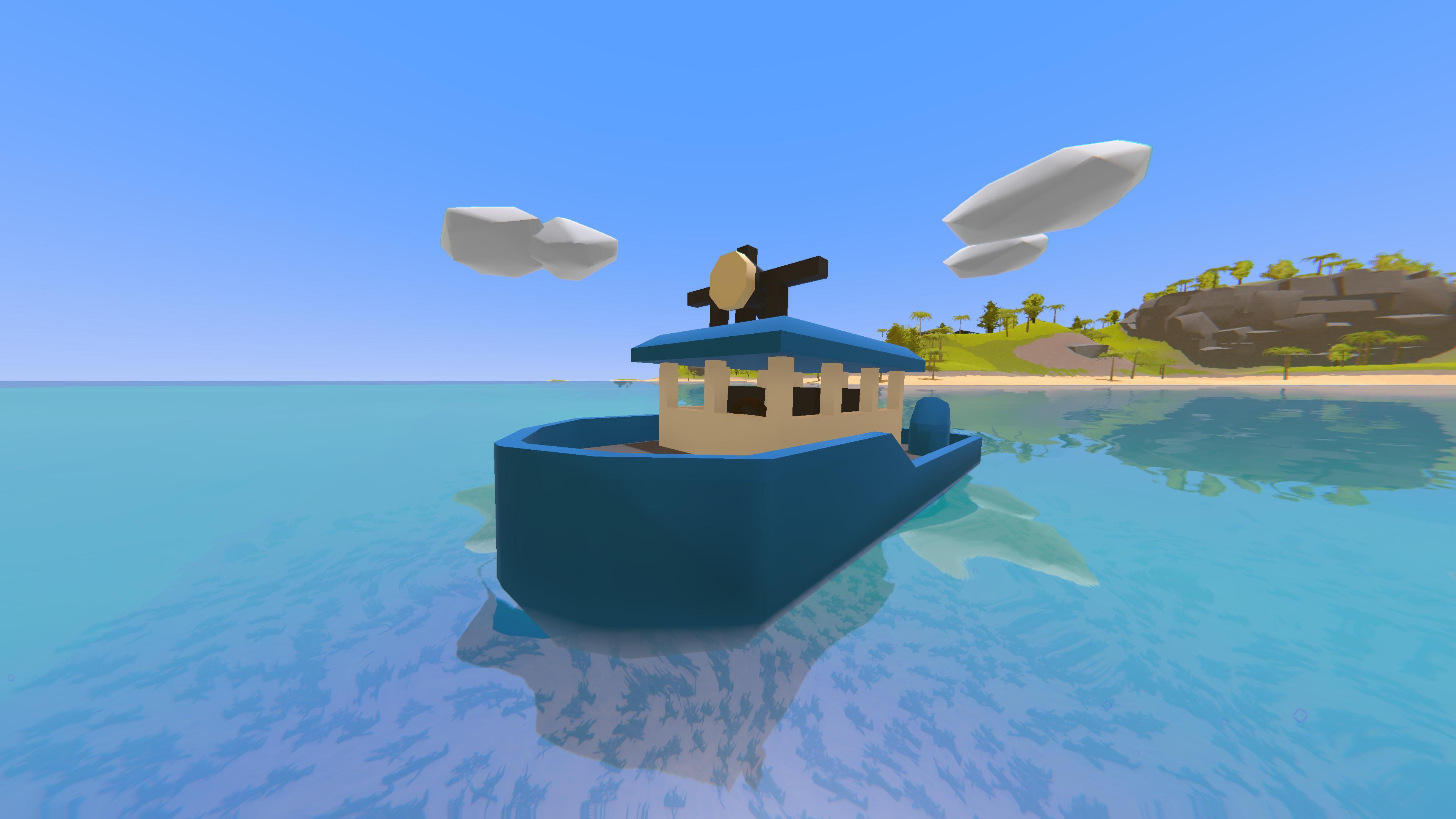 bateau unturned