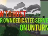 Hosting a Dedicated Server