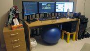 Nelson Sexton computer setup