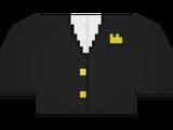 Gold Tuxedo Top