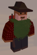 Player wearing Ghillie Vest