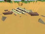 Tignish Farm - Scorpion-7 sign