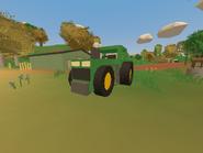 Tractor on Wellington Farm