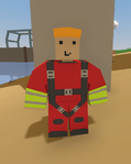 Coastguard outfit worn